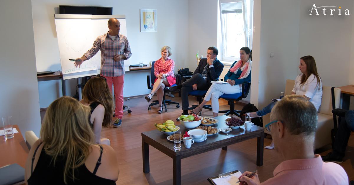Atria Group CZ workshopem inspirovala zájemce o koučink