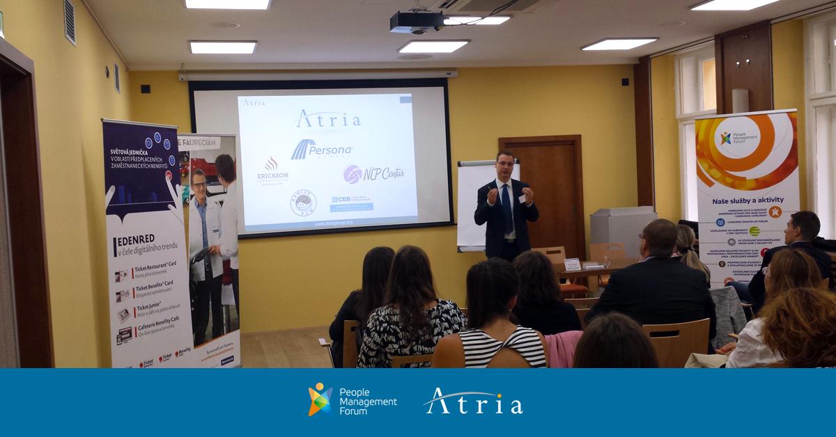 Atria Group na HR konferenci v Praze