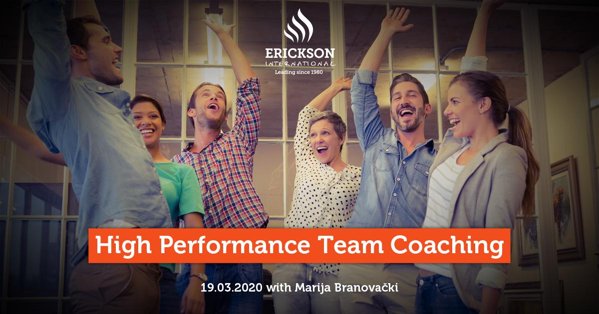High Performance Team Coaching training