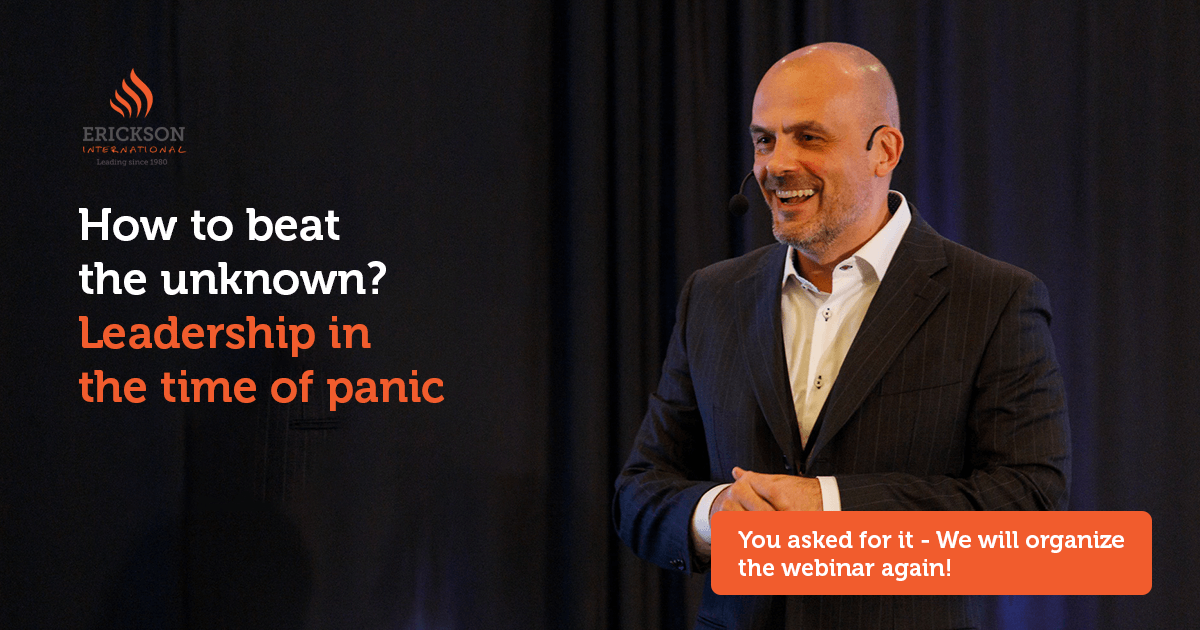 How to beat the unknown? Leadership in the time of panic