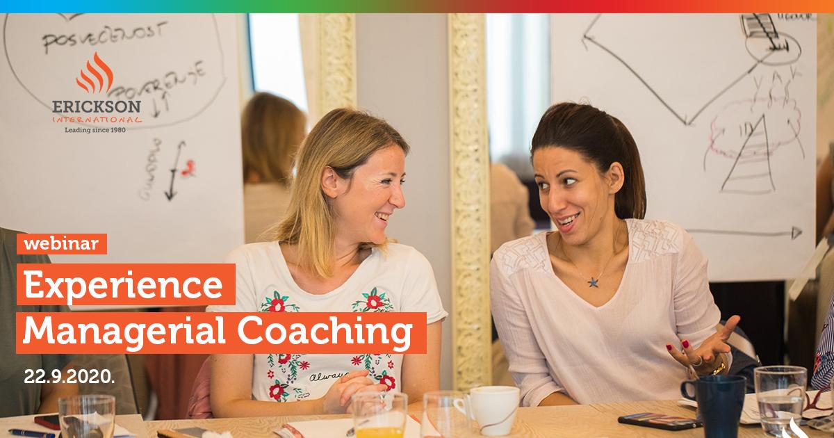 """Coaching webinar """"Coach Up – Experience Managerial Coaching"""""""